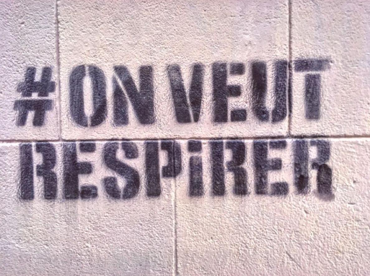 #onveutrespirer